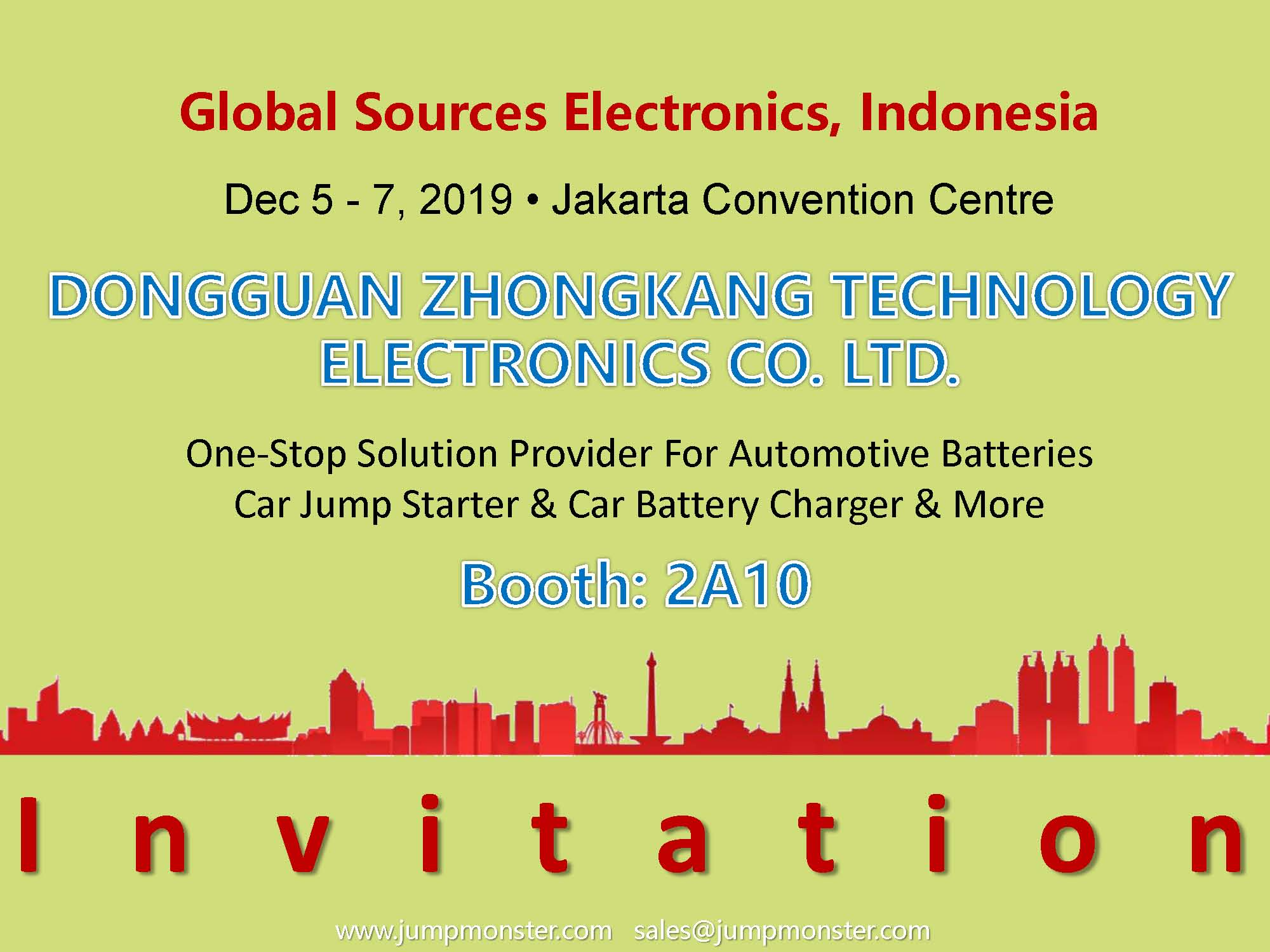 2019 Global Sources Indonesia Electronics Show